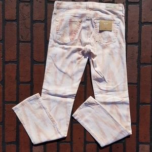 "AG ""THE STILT "" Cigarette Jeans Ikat Print (J1-44)"